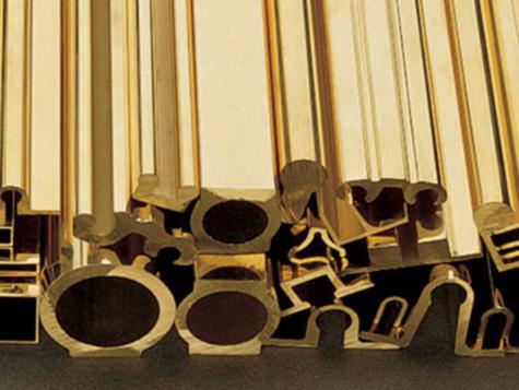 Brass Extrusion Proflies /